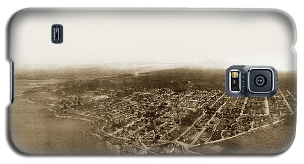 Pacific Grove 1200 From Feet Above Lovers Point And Monterey Bay 1906 Galaxy S5 Case