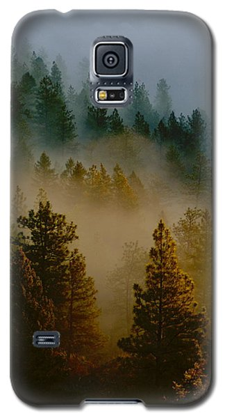 Pacific Northwest Morning Mist Galaxy S5 Case