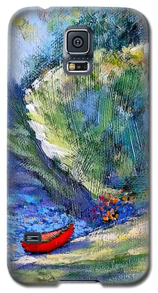 Galaxy S5 Case featuring the painting Pacific Nw Light #2 by Charles Munn