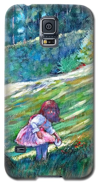 Galaxy S5 Case featuring the painting Pacific Nw Light #3 by Charles Munn