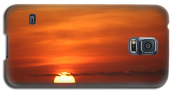 Pacific Nw Sunset Galaxy S5 Case by Jeanette French