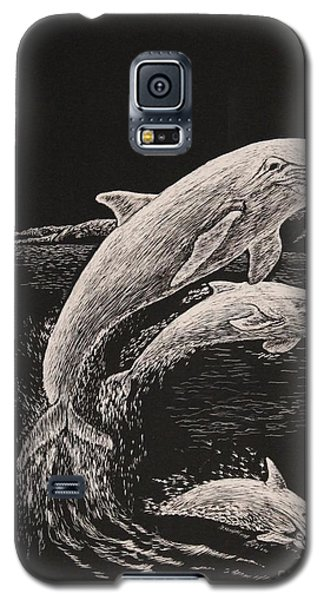 Pacific Ocean Acrobats  Galaxy S5 Case