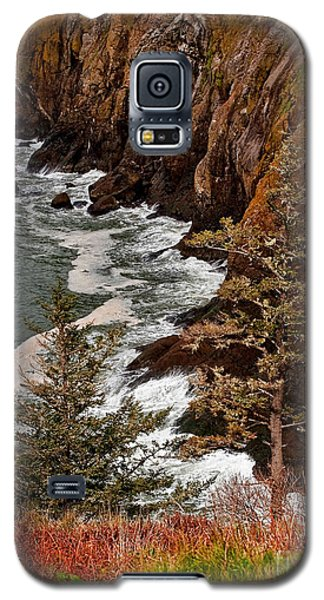 Pacific Ocean Cliff Line On Washington State Coast Galaxy S5 Case