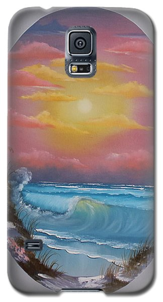 Pacific Ocean Sunset Galaxy S5 Case