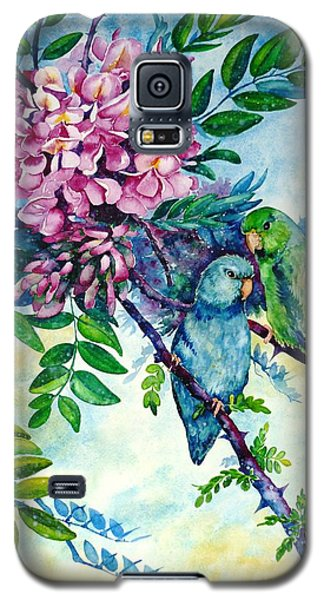 Pacific Parrotlets Galaxy S5 Case