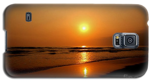 Pacific Sunset Reflection Galaxy S5 Case