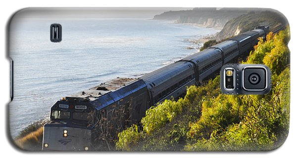 Pacific Surfliner Along The Central Coast Galaxy S5 Case