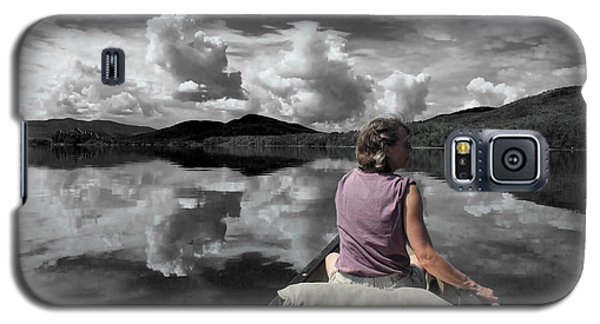 Paddling Attean Pond Galaxy S5 Case