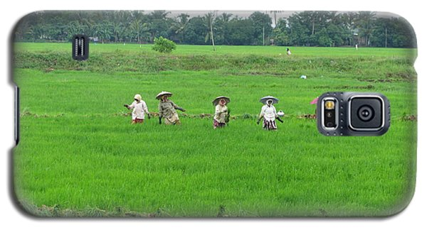 Paddy Field Workers Galaxy S5 Case