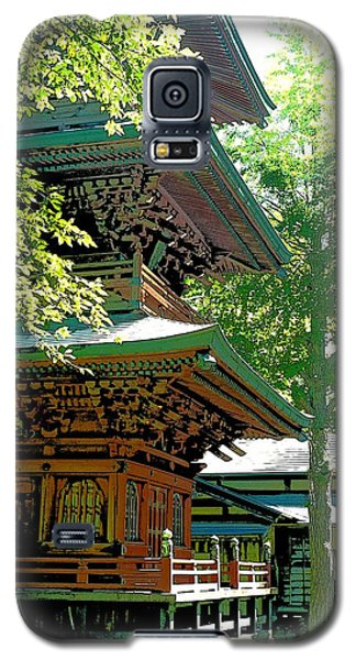 Pagoda Side View Galaxy S5 Case