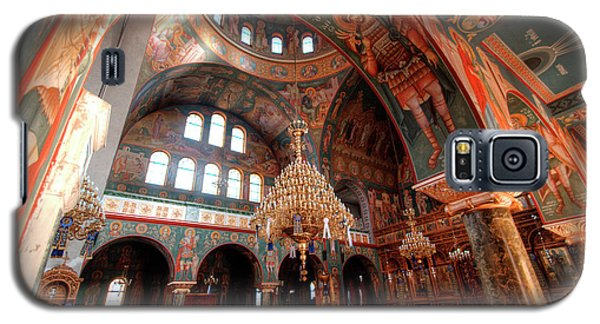 Pagrati Athens Church Interior 4 Galaxy S5 Case