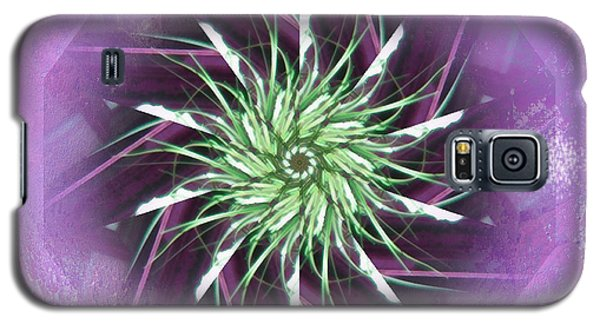 Pail Of Flower Galaxy S5 Case by Barbara MacPhail
