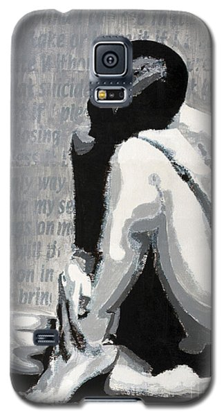 Galaxy S5 Case featuring the painting Painless by Denise Deiloh