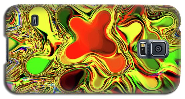 Paint Ball Color Explosion Galaxy S5 Case