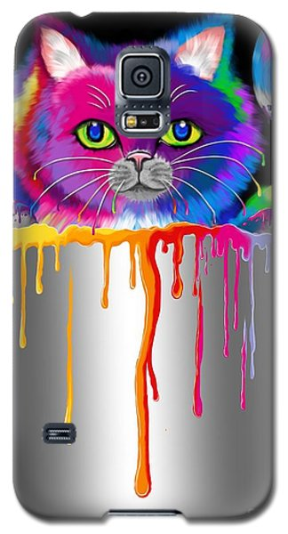 Paint Can Cat Galaxy S5 Case