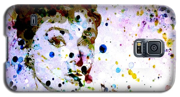 Galaxy S5 Case featuring the digital art Paint Drops by Brian Reaves