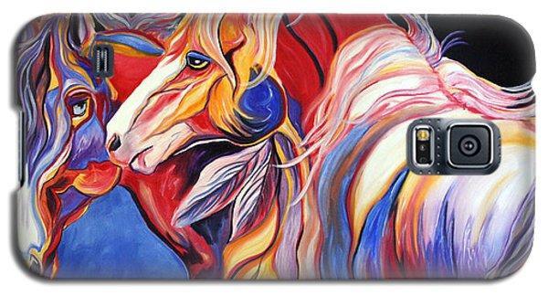 Paint Horse Colorful Spirits Galaxy S5 Case by Jennifer Godshalk