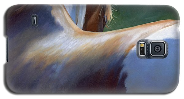 Galaxy S5 Case featuring the painting Paint Landscape II by Alecia Underhill