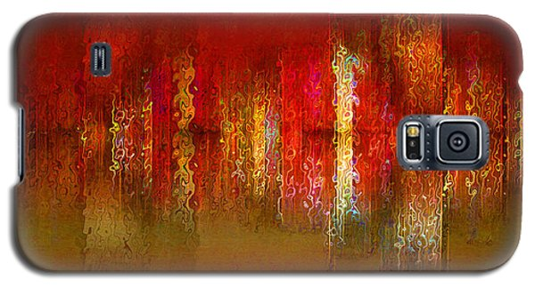 Paint The Town Red Galaxy S5 Case by Stuart Turnbull