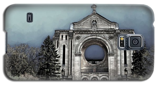 Galaxy S5 Case featuring the digital art Painted Basilica 2 by Teresa Zieba