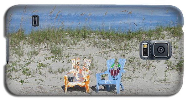 Painted Beach Chairs Galaxy S5 Case