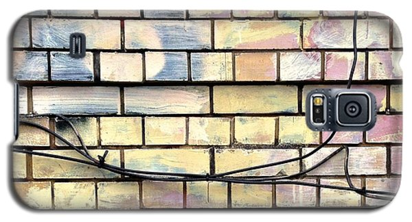 Colorful Galaxy S5 Case - Painted Brick by Julie Gebhardt