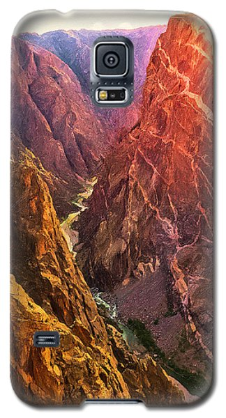 Painted Canyon Galaxy S5 Case