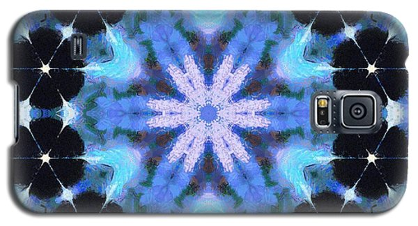 Painted Cymatics 108.00hz Galaxy S5 Case