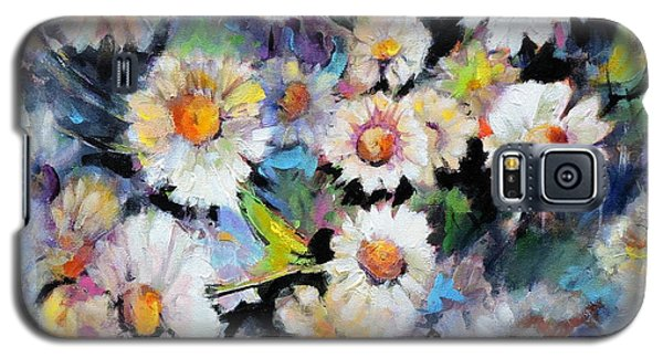 Painted Daisy Galaxy S5 Case