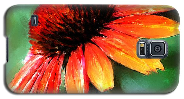 Galaxy S5 Case featuring the painting Painted Daisy by Robert Smith