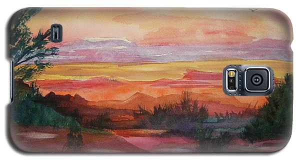Painted Desert II Galaxy S5 Case by Ellen Levinson