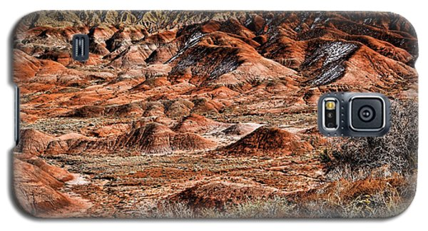 Painted Desert In Winter Galaxy S5 Case