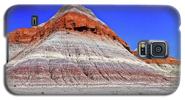 Galaxy S5 Case featuring the photograph Painted Desert National Park by Bob and Nadine Johnston