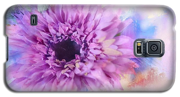 Painted Flower Galaxy S5 Case