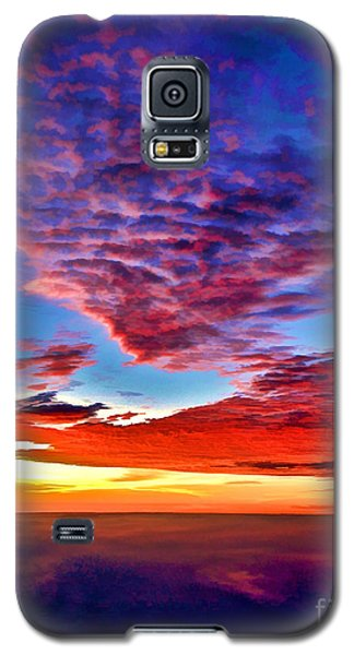 Galaxy S5 Case featuring the photograph Painted Heavens by Adam Olsen