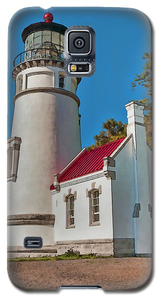 Painted Heceta Head Lighthouse Galaxy S5 Case
