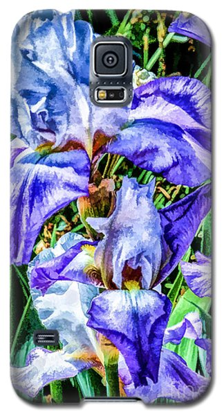 Painted Iris Galaxy S5 Case