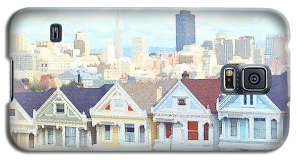 Painted Ladies Alamo Square San Francisco Galaxy S5 Case