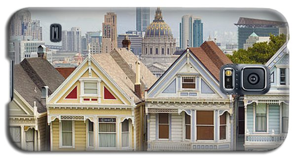 Painted Ladies Row Houses By Alamo Square Galaxy S5 Case
