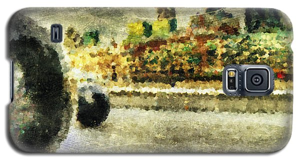 Galaxy S5 Case featuring the digital art Painted London by Andrea Barbieri