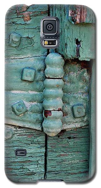 Painted Metal And Wood Galaxy S5 Case by Kae Cheatham