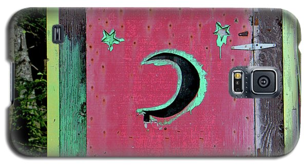 Painted Outhouse Galaxy S5 Case by Art Block Collections