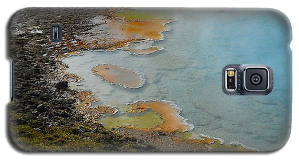 Painted Pool Of Yellowstone Galaxy S5 Case by Michele Myers