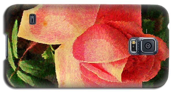 Painted Rose Galaxy S5 Case by Judy Palkimas