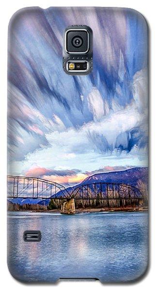 Painted Skies Galaxy S5 Case