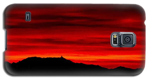 Galaxy S5 Case featuring the photograph Painted Sky 36 by Mark Myhaver