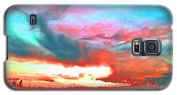 Galaxy S5 Case featuring the photograph Painted Sky by Holly Martinson