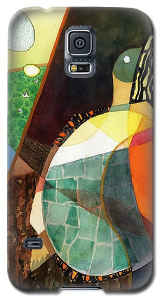 Painted Turtle Sunning Galaxy S5 Case