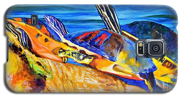 Painted Turtles Galaxy S5 Case