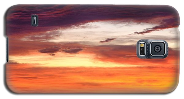 Galaxy S5 Case featuring the photograph Painterly Sunrise On The Blue Ridge Parkway by Photography  By Sai